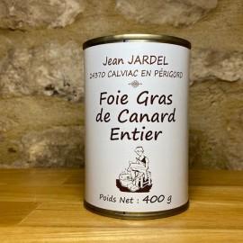 FOIE GRAS DE CANARD ENTIER 400g Boite médaille d'Argent 2015