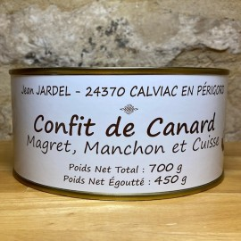 CONFIT de CANARD Magret et Manchon + 1 Cuisse