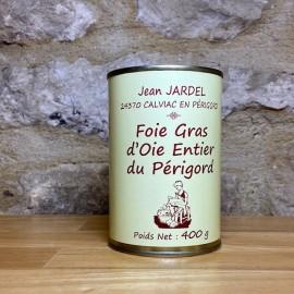 FOIE GRAS D'OIE ENTIER 400g Boite Médaille d'Argent PARIS 2017