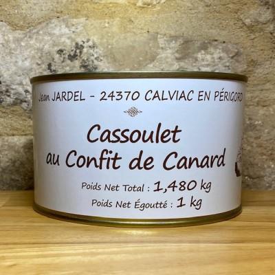 CASSOULET au Confit de Canard 1480G