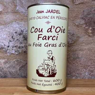 COU D'OIE FARCI au foie gras d'oie