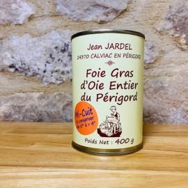 FOIE GRAS D'OIE ENTIER MI-CUIT 400g